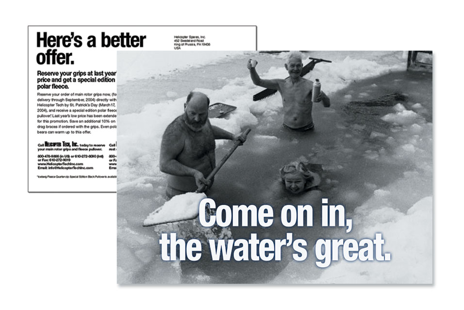 1D HTI Polar Advertising website samples