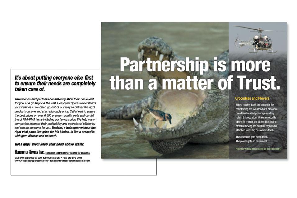 1F HTI Croc Advertising website samples