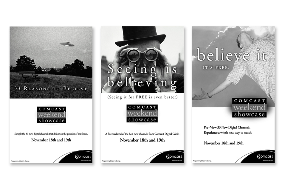 1J Comcast Showcase Advertising website samples RGB
